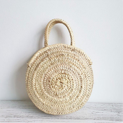 Amiri Morrocan Basket, Bags - The Happy Beach