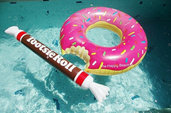 Tootsie Roll Noodle Pool Float, Pool inflatables - The Happy Beach