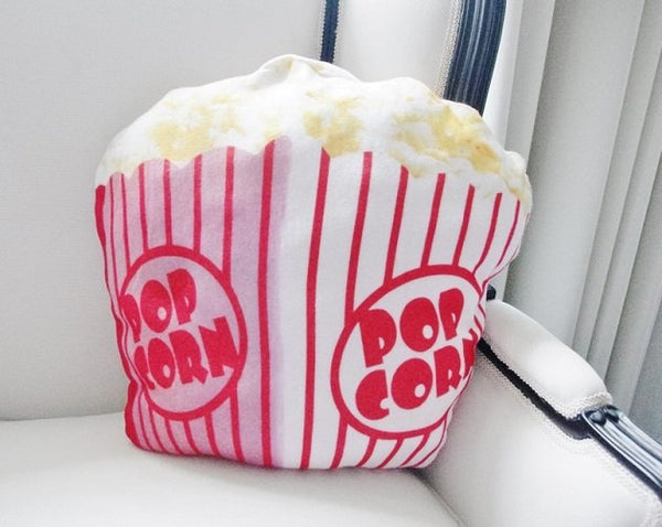 Popcorn Plush Cushion, Cushions - The Happy Beach