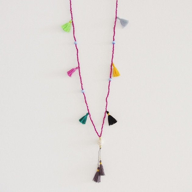 Marrakech necklace, Necklaces - The Happy Beach