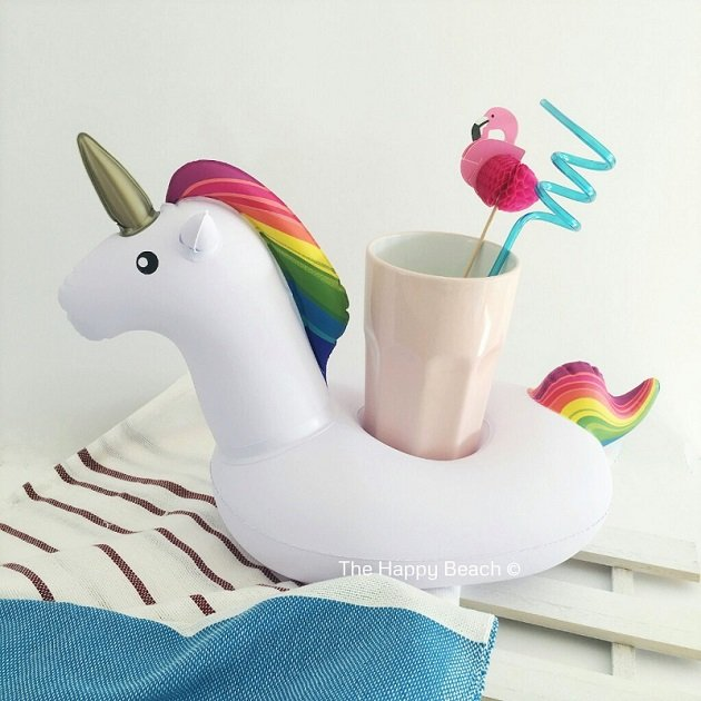 Unicorn Drink Float, Pool inflatables - The Happy Beach