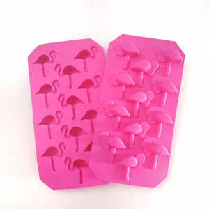 Flamingo Silicone Ice Tray, Tablewares - The Happy Beach