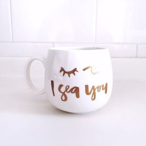 I Sea You Mug, Tablewares - The Happy Beach