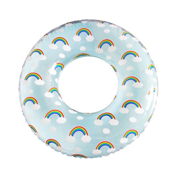 Rainbow Ring Float, Pool inflatables - The Happy Beach