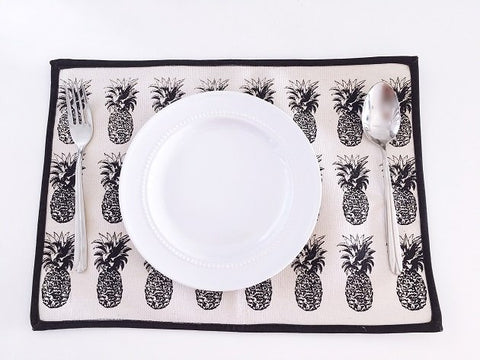 Pineapple Table Mat - Set of 2, Tablewares - The Happy Beach