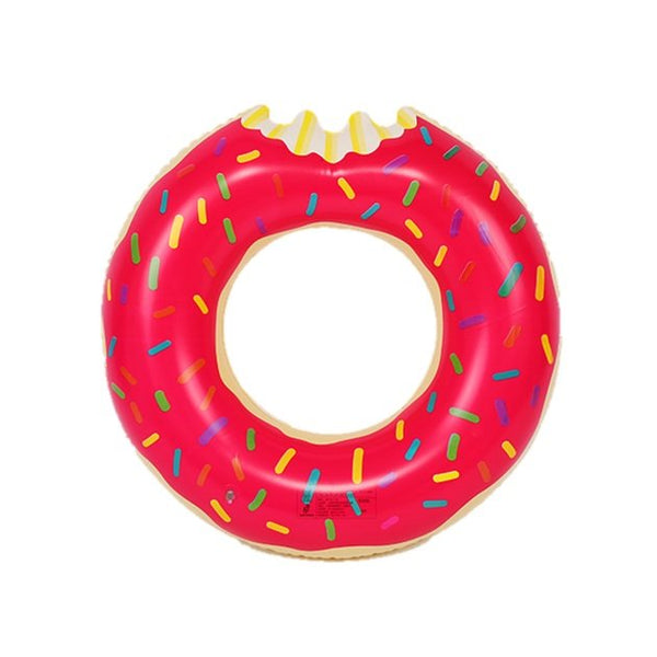 Strawberry Donut Float (Kids), Pool inflatables - The Happy Beach