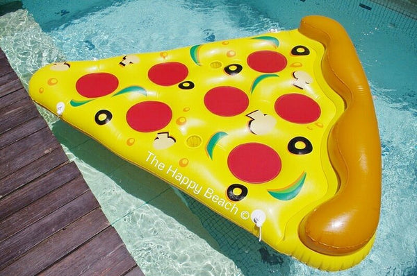 Pizza Slice Pool Float, Pool inflatables - The Happy Beach