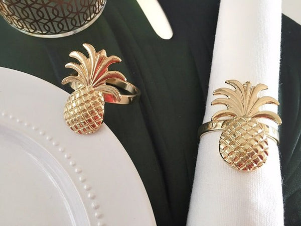 Pineapple Napkin Ring Holder, Napkin holder - The Happy Beach