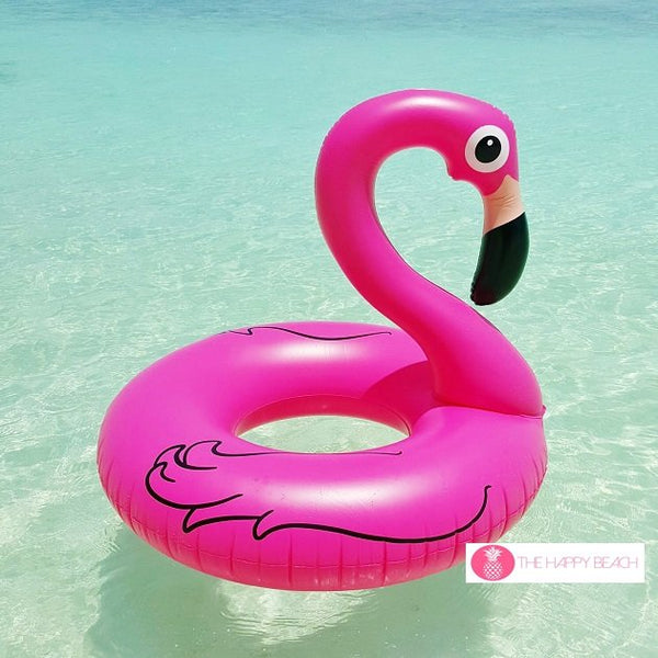 Pink Flamingo Pool Float, Pool inflatables - The Happy Beach