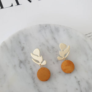 Lexie Wood Earrings