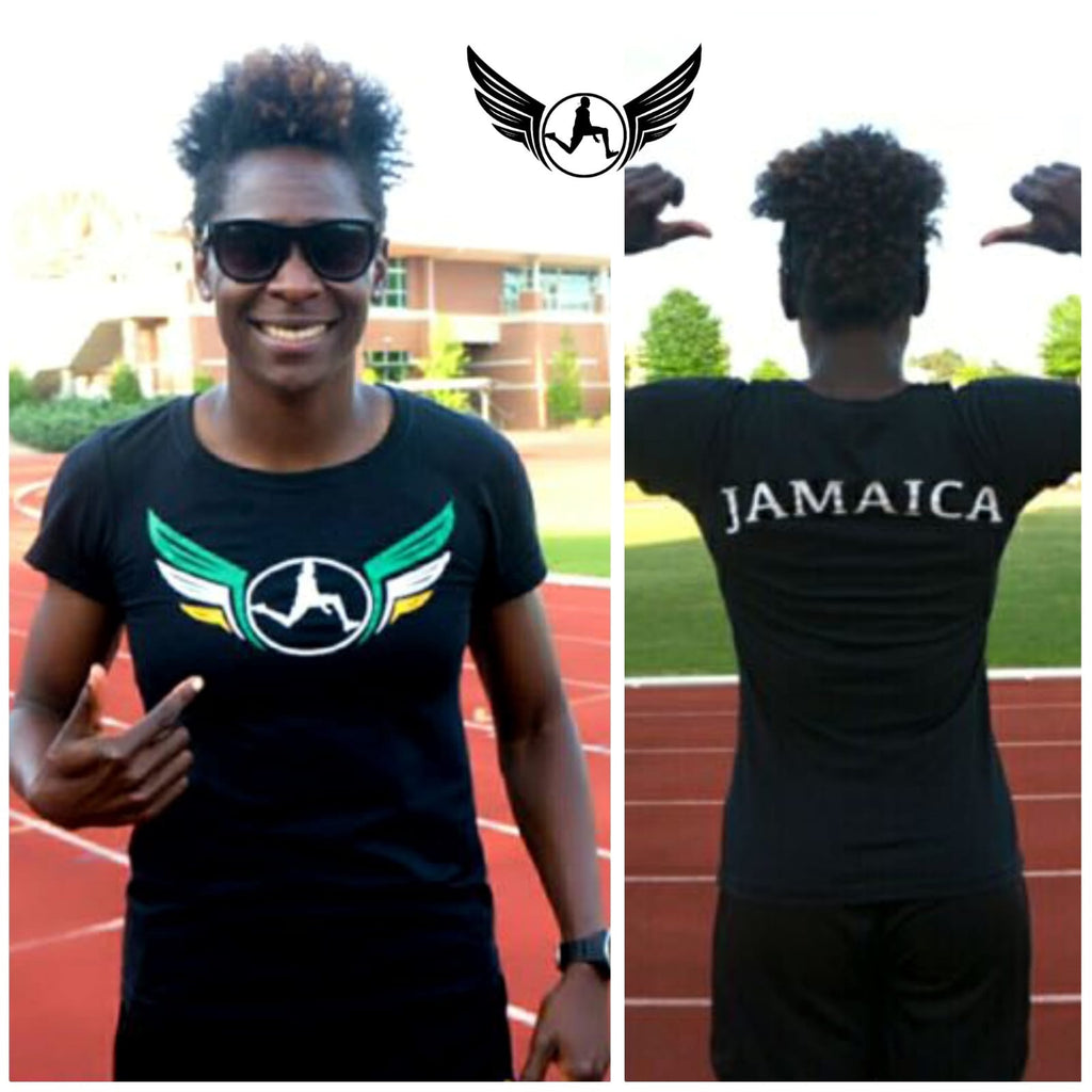 SPA Ladies Fitted T (Jamaica)