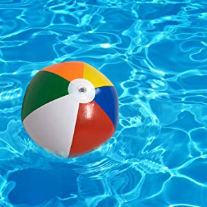beach ball pool party