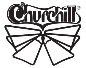 churchill swimfins logo