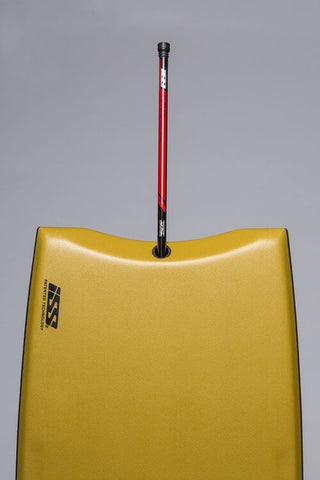 stringers are often in the center of the board, but this varies depending on the type of bodyboard