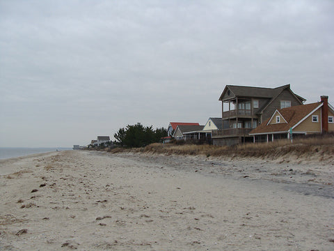 Broadkill Beach offers a laid-back, less crowded experience, much like that of the Outer Banks in North Carolina.