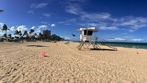 If you're looking for a cheaper and less crowded beach than Miami, Ft. Lauderdale makes a great choice.