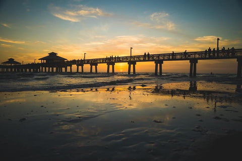 With its sugary-sand beaches, Fort Myers Beach is truly beautiful.