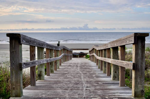 Located 25 miles southwest of Charleston, this barrier island is excellent for beach escapes and relaxation.