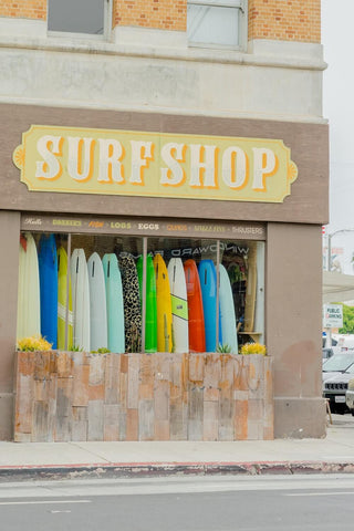 Local beach shops can work for some supplies, but watch out for prices.