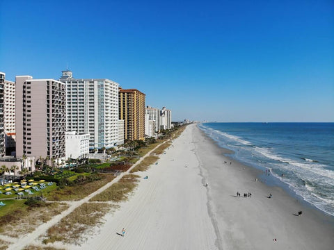 Myrtle Beach takes the #1 spot on our list of the best South Carolina beaches.