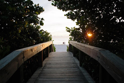 The Pickleball Capital, Naples offers some great beaches for snorkeling.