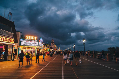 Nicknamed America's Greatest Family Resort, Ocean City is an excellent family-friendly beach destination.