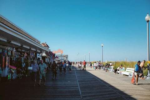 Rehoboth Beach is one of the most popular beaches in Delaware.