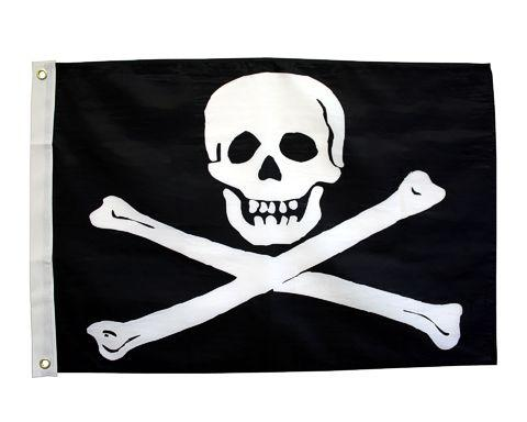Flappin' Flags 4' x 6' Jolly Roger Flag Flag Flappin' Flags