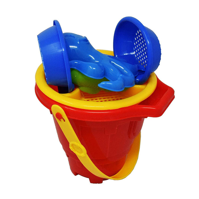 Beachgoer 6 Piece Beach Bucket Toy Set