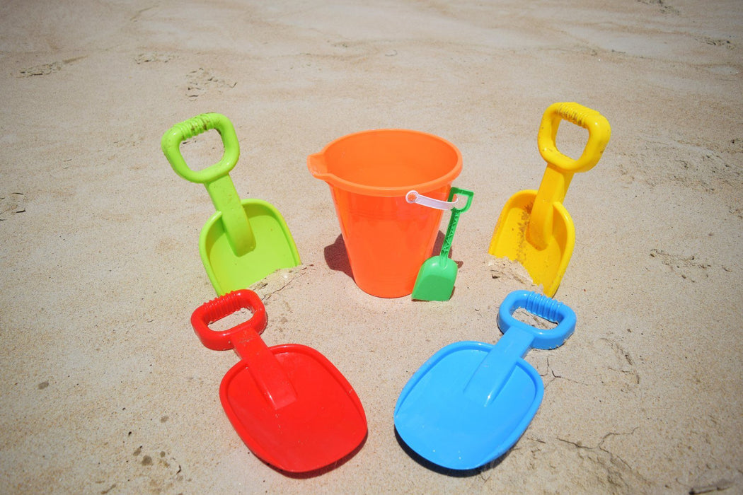 Beachgoer Bulk Pack of 4 10.5-Inch Sand Shovels
