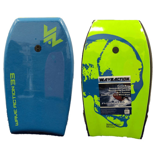 "Wave Action 33"" Hard Slick Bodyboard"