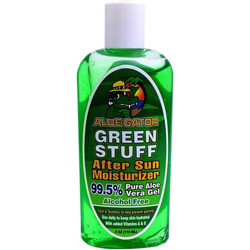 Aloe Gator Green Stuff After Sun Moisturizer, 8 Ounce