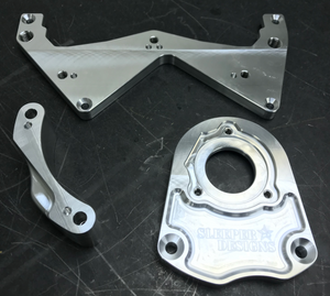 2JZ Billet Mechanical Fuel Pump Mount