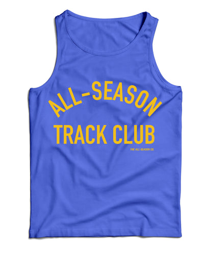 All-Season Track Club: Unisex royal tank - The All-Season Co.