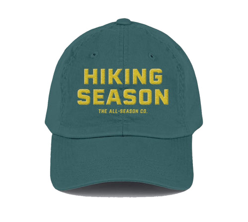 Hiking Season: Cap