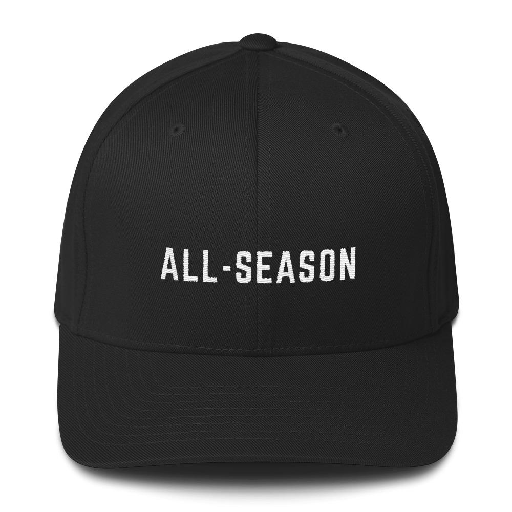 Twill flex-fit cap - The All-Season Co.