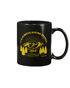It's Always Hiking Season: 15oz mug - The All-Season Co.
