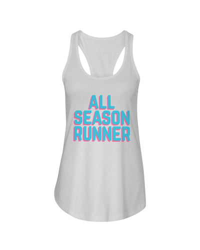 All-Season Runner: Bright days racerback tank - The All-Season Co.