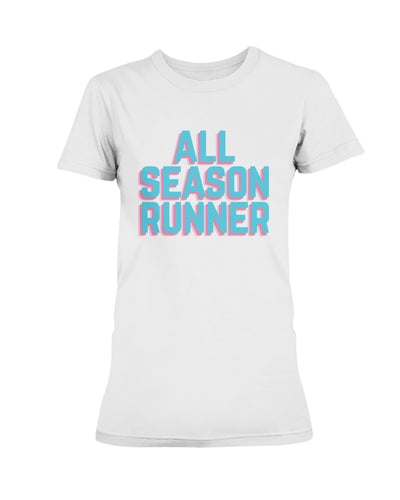 All-Season Runner: Bright days women's tee - The All-Season Co.