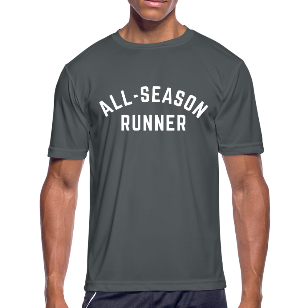 All-Season Runner: moisture wicking performance tee - The All-Season Co.