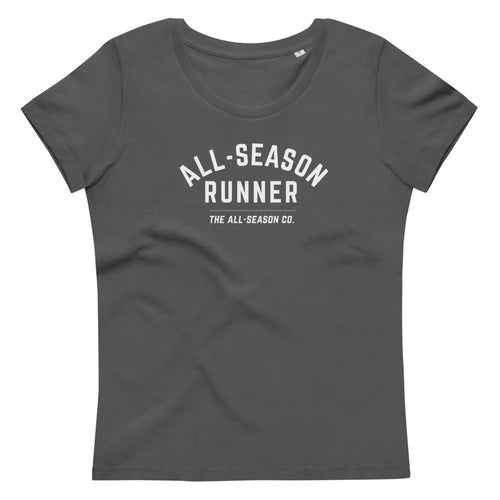 All-Season Runner: Women's Fitted Organic Cotton Tee