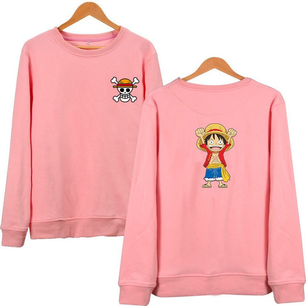 Cute Luffy SweatShirt