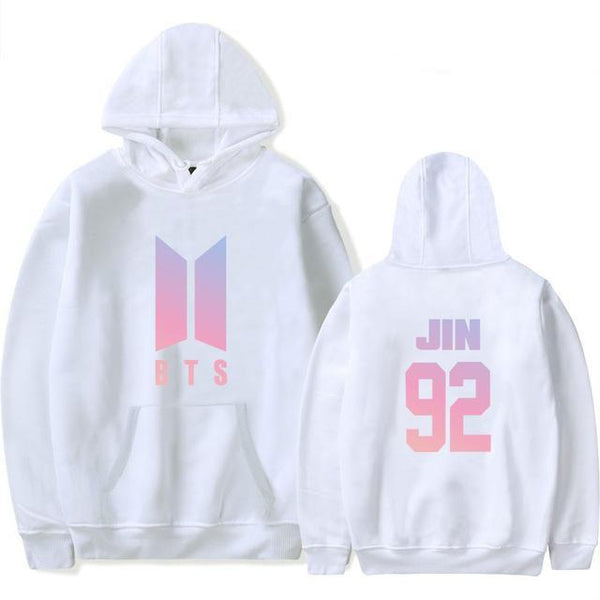 Sweat à Capuche BTS Name