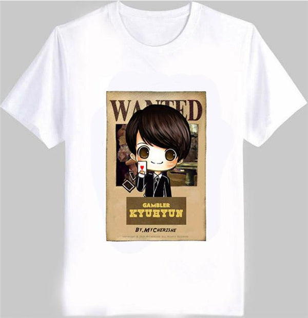 T-Shirt Wanted Super Junior