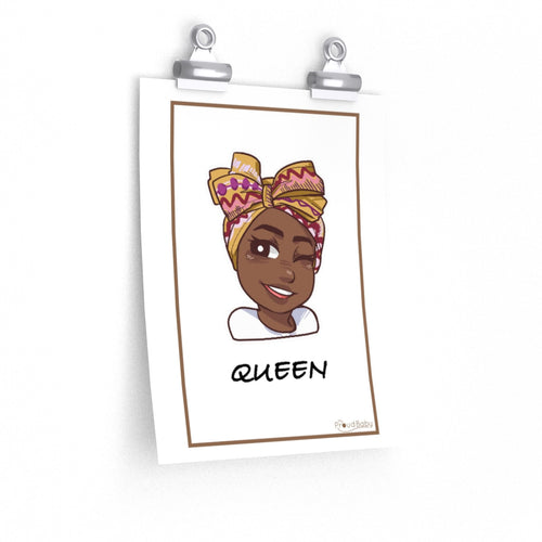 My Proud Baby, Queen Nursery Poster