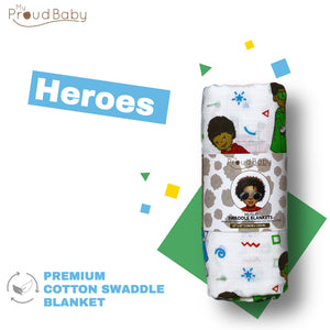 Heroes Swaddle