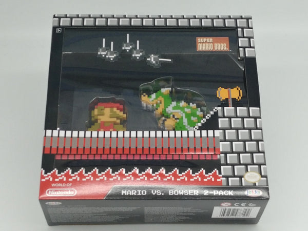Mario Vs Bowser World Of Nintendo 2 Pack Set -  Media Revive Buy Retro Video Games