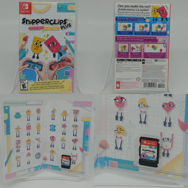 Snipperclips Plus Cut It Out Together Nintendo Switch