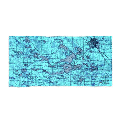 West Bloomfield Area Beach Towel