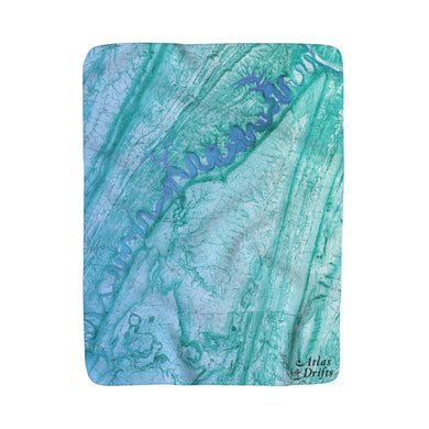 Raystown Lake Sherpa Fleece Blanket
